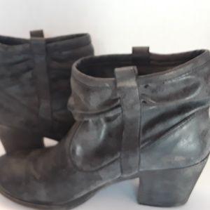 Rocket Dog K9 Black Ankle Boots,  8.5